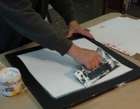 Robert Burridge Studio Artsyfartsy Newsletter Article